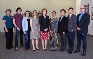 Fellows with Chancellor
