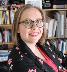 Photo of PhD student Sarah Beard